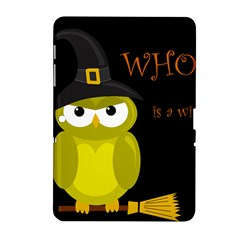 Who Is A Witch?   Yellow Samsung Galaxy Tab 2 (10 1 ) P5100 Hardshell Case  by Valentinaart