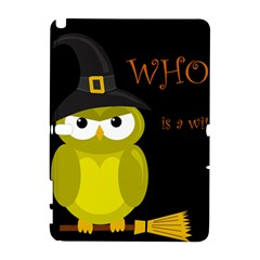 Who Is A Witch?   Yellow Samsung Galaxy Note 10 1 (p600) Hardshell Case by Valentinaart