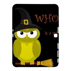 Who Is A Witch?   Yellow Samsung Galaxy Tab 4 (10 1 ) Hardshell Case  by Valentinaart