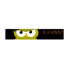 Who Is A Witch?   Yellow Flano Scarf (mini) by Valentinaart
