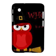 Who Is A Witch?   Red Samsung Galaxy Tab 2 (7 ) P3100 Hardshell Case  by Valentinaart