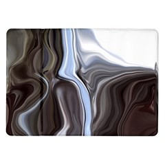 Metallic And Chrome Samsung Galaxy Tab 10 1  P7500 Flip Case by theunrulyartist