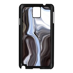 Metallic And Chrome Samsung Galaxy Note 3 N9005 Case (black) by theunrulyartist