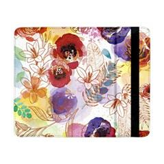 Watercolor Spring Flowers Background Samsung Galaxy Tab Pro 8 4  Flip Case by TastefulDesigns