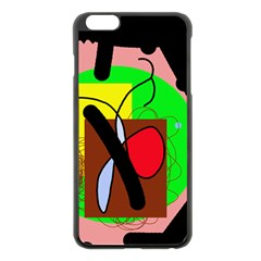 Fantasy  Apple Iphone 6 Plus/6s Plus Black Enamel Case by Valentinaart