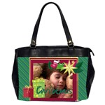 xmas - Oversize Office Handbag (2 Sides)