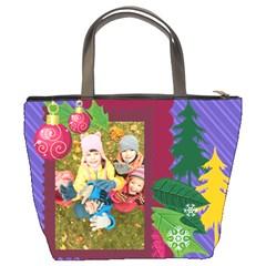 Xmas By 2016   Bucket Bag   W7n14reyx1f9   Www Artscow Com Back