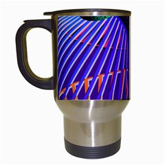 Colorful Rainbow Helix Travel Mugs (white) by designworld65