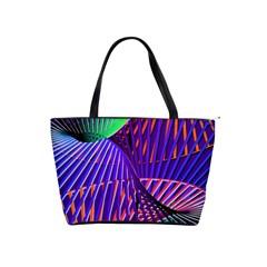 Colorful Rainbow Helix Shoulder Handbags by designworld65