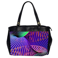 Colorful Rainbow Helix Office Handbags (2 Sides)  by designworld65