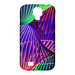 Colorful Rainbow Helix Samsung Galaxy S4 Classic Hardshell Case (pc+silicone) by designworld65
