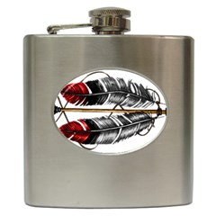 Order Of The Arrow Hip Flask (6 Oz) by EverIris