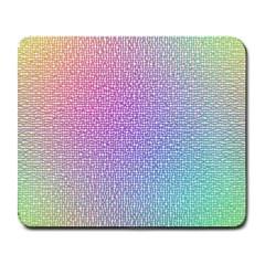 Rainbow Colorful Grid Large Mousepads by designworld65