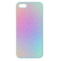 Rainbow Colorful Grid Apple Seamless Iphone 5 Case (color) by designworld65