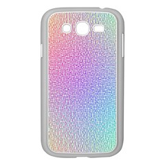 Rainbow Colorful Grid Samsung Galaxy Grand Duos I9082 Case (white) by designworld65