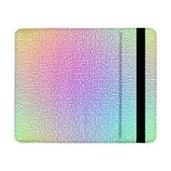 Rainbow Colorful Grid Samsung Galaxy Tab Pro 8 4  Flip Case by designworld65