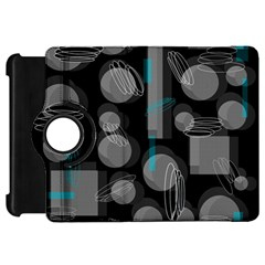 Come Down   Blue Kindle Fire Hd Flip 360 Case by Valentinaart