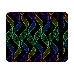 Rainbow Helix Black Samsung Galaxy Tab Pro 8 4  Flip Case by designworld65