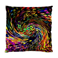 Abstract Art, Colorful, Texture Standard Cushion Case (one Side) by AnjaniArt