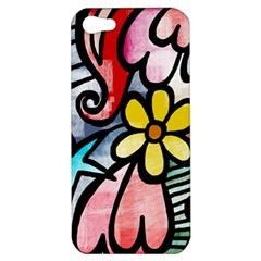 Abstract Doodle Apple Iphone 5 Hardshell Case by AnjaniArt