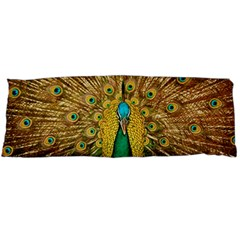 Bird Peacock Feathers Body Pillow Case Dakimakura (two Sides) by AnjaniArt