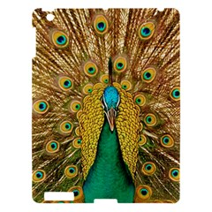 Bird Peacock Feathers Apple Ipad 3/4 Hardshell Case by AnjaniArt