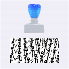 Business Men Marching Concept Rubber Stamps (medium)  by AnjaniArt