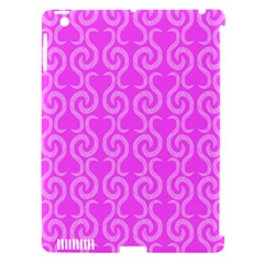 Pink Elegant Pattern Apple Ipad 3/4 Hardshell Case (compatible With Smart Cover) by Valentinaart