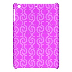 Pink Elegant Pattern Apple Ipad Mini Hardshell Case by Valentinaart