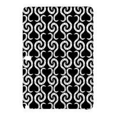 Black and white pattern Samsung Galaxy Tab Pro 10.1 Hardshell Case