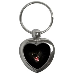 Cat Animal Cute Key Chains (heart)  by AnjaniArt