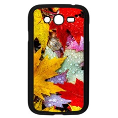 Coloorfull Leave Samsung Galaxy Grand Duos I9082 Case (black) by AnjaniArt