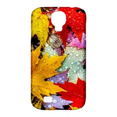 Coloorfull Leave Samsung Galaxy S4 Classic Hardshell Case (pc+silicone) by AnjaniArt