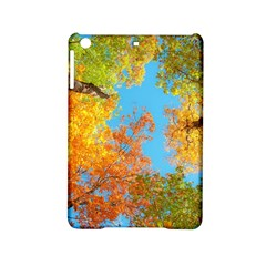 Colorful Leaves Sky Ipad Mini 2 Hardshell Cases by AnjaniArt