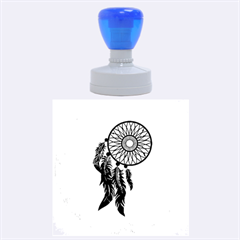 Dream Catcher Rubber Round Stamps (large) by AnjaniArt