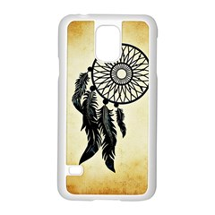 Dream Catcher Samsung Galaxy S5 Case (white) by AnjaniArt