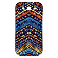 Cute Hand Drawn Ethnic Pattern Samsung Galaxy S3 S Iii Classic Hardshell Back Case by AnjaniArt