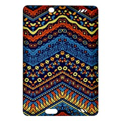 Cute Hand Drawn Ethnic Pattern Amazon Kindle Fire Hd (2013) Hardshell Case by AnjaniArt