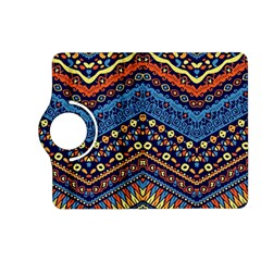 Cute Hand Drawn Ethnic Pattern Kindle Fire Hd (2013) Flip 360 Case by AnjaniArt