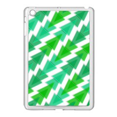 Geometric Art Pattern Apple Ipad Mini Case (white) by AnjaniArt
