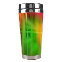 Texture Background Stainless Steel Travel Tumblers by AnjaniArt