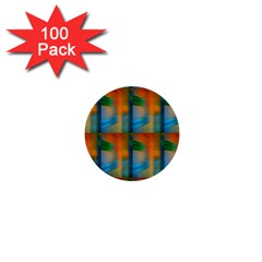 Wall Of Colour Duplication 1  Mini Buttons (100 Pack)  by AnjaniArt