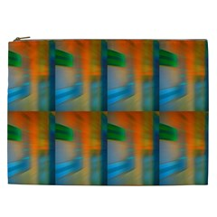 Wall Of Colour Duplication Cosmetic Bag (xxl)  by AnjaniArt