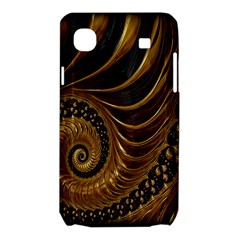 Fractal Spiral Endless Mathematics Samsung Galaxy SL i9003 Hardshell Case by Zeze