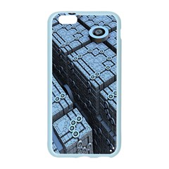 Grid Maths Geometry Design Pattern Apple Seamless iPhone 6/6S Case (Color)