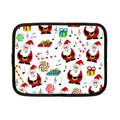Xmas Song Netbook Case (small)  by Valentinaart