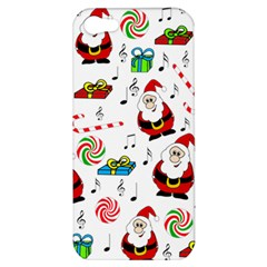 Xmas Song Apple Iphone 5 Hardshell Case by Valentinaart