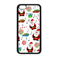 Xmas Song Apple Iphone 5c Seamless Case (black) by Valentinaart