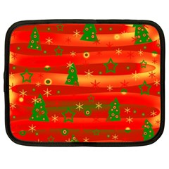 Christmas Magic Netbook Case (xl)  by Valentinaart