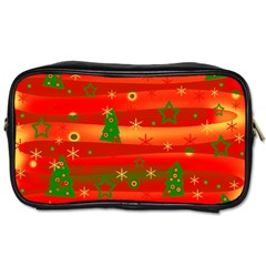 Christmas Magic Toiletries Bags by Valentinaart